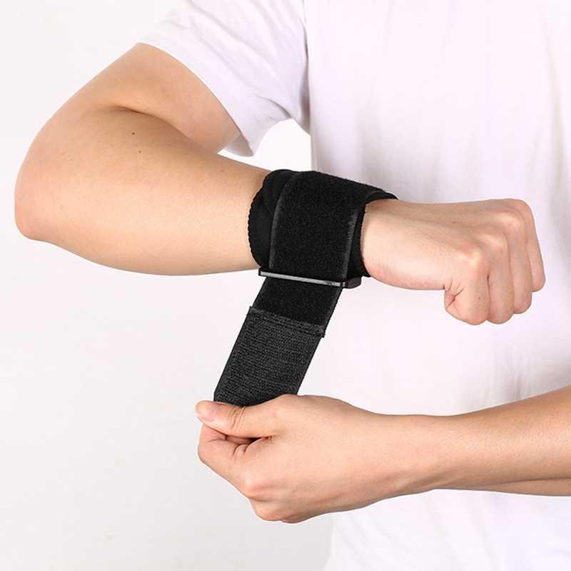 1 шт. фиксатор запястья защита для колена Регулируемый тренировочный повязка на запястье для упражнений наручные Бинт Эластичный Напульсник артрит