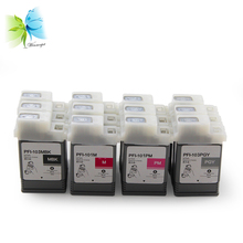 WINNERJET 130ml for PFI 101/103 Compatible Ink Cartridge with One Time Use Chip Canon IPF5100 IPF6100 Inkjet Printer