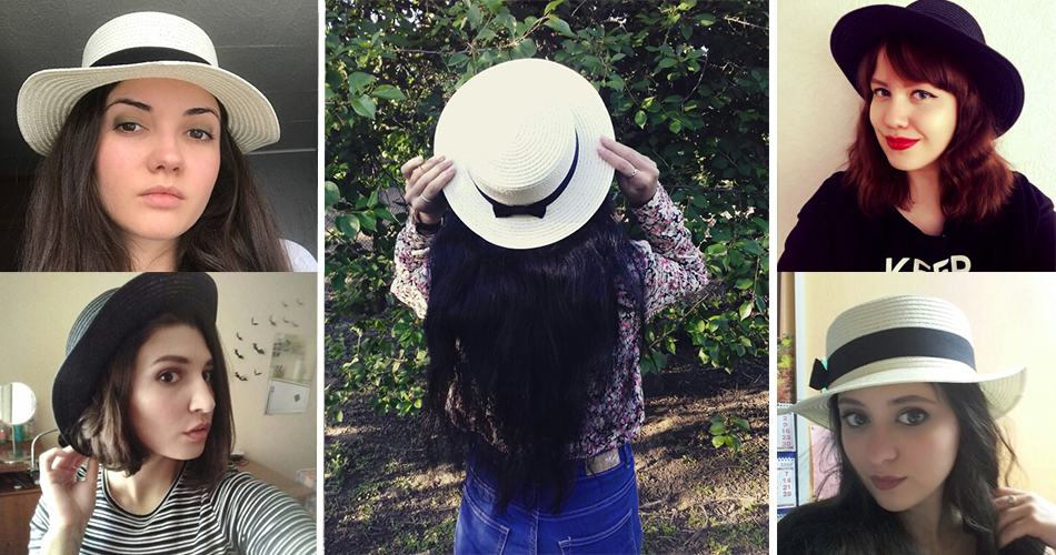 Chapeau paille de soleil de mode parent-enfant