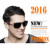 2016 Estilo Fresco Polarizadas Deportes Al Aire Libre de Los Hombres gafas de Sol de Diseñador de la Marca de Alta Calidad de 3 Colores