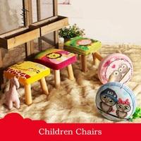 Children Stool Creative Shoes Shoe Home Solid Wood Stool Cartoon Children Sofa Stool Living Room Coffee
