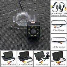 8LED автомобильная парковочная камера заднего вида 4,3