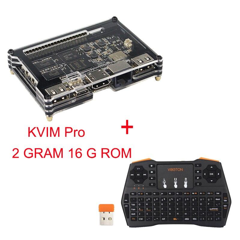 Khadas Vim Pro Quad Core 2GB RAM 16GB EMCC Amlogic S905X Android TV Box better than
