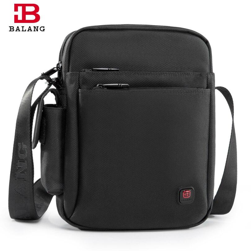 BALANG High Quality Casual Shoulder bag Men's Travel Fashionable Multipurpose  Cross body bags Oxford Waterproof Messenger bag