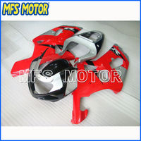 Motorcycle Injection Fairing kit For Suzuki GSX R GSXR 1000 2000 2001 2002 Red