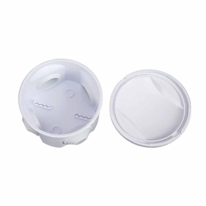 100x60x28mm plastique électrique Boîtier jonction Bricolage blanc boîte