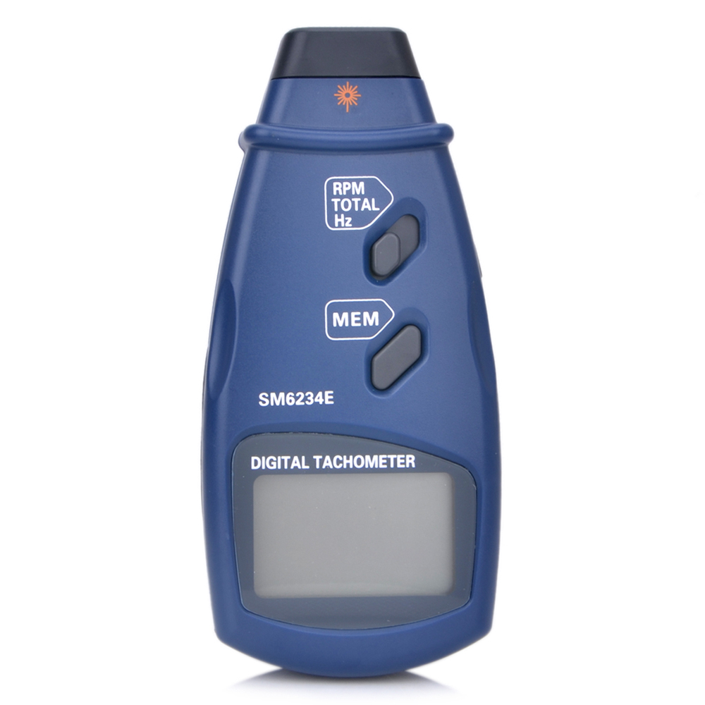 3in1Portable Professional Photo Tachometer Wide Measuring Range For 2.5~99999 RPM Digital Tachometer /0.05~1666Hz/1~99999Total