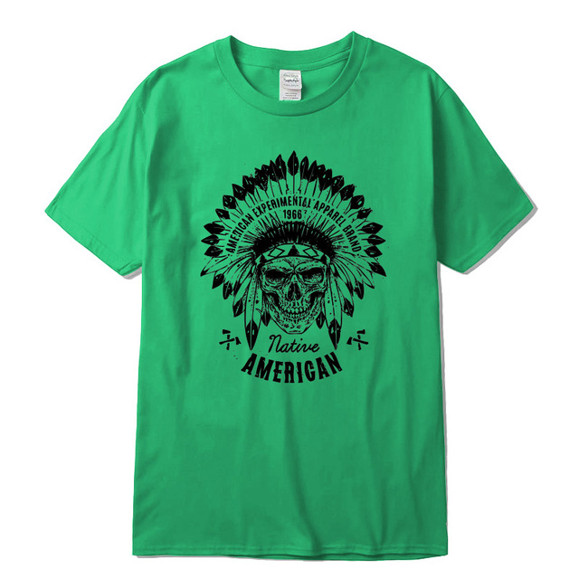NATIVE AMERICAN T-SHIRT (17 VARIAN)