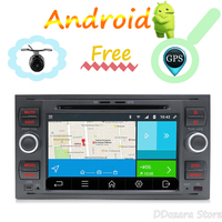 2 din android Car Stereo Radio Receiver for ford focus/kuga/fusion multimedia player with rear view camera wifi