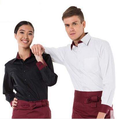 Online buy wholesale restaurant staff uniforms from china for Restaurant uniform shirts wholesale