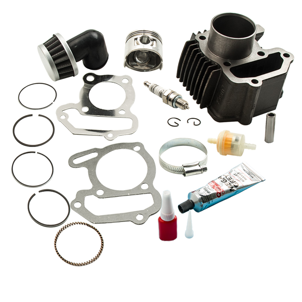 For Yamaha BADGER 80 YFM 80 CYLINDER PISTON RINGS GASKETS KIT 1985 - 2001