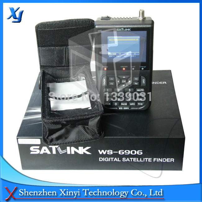 Original Satlink WS 6906 3.5 DVB-S FTA Digital Satellite Meter satellite finder Satlink WS6906 star identifier free shippingOriginal Satlink WS 6906 3.5 DVB-S FTA Digital Satellite Meter satellite finder Satlink WS6906 star identifier free shipping