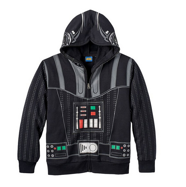 Star Wars Avengers, Iron Man Children Sweatshirt Boys Autumn Coat Kids Casual Outwear Clothing Super hero kids cotton Jacket