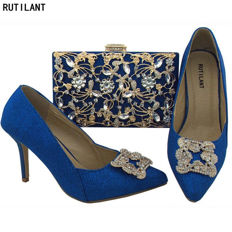 und SchwarzGoldOrangeLilaWeinrotK African Schuhe italienische Tasche Women Nigerian In Fashion nigsblau African Assorted Assorted Bags OkZTPXui