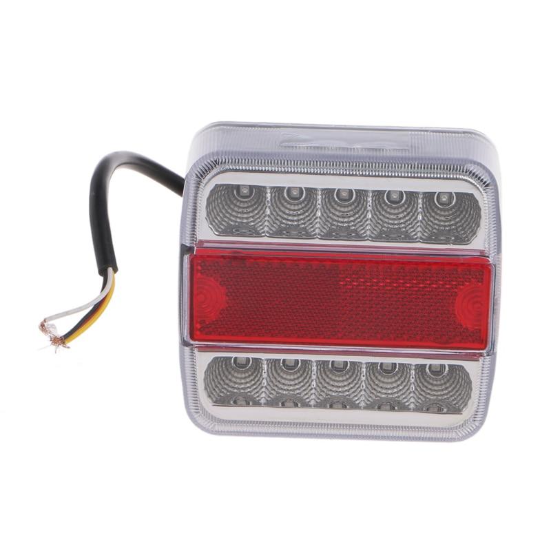 Автомобилей грузовой автомобиль прицеп лодка Караван задний фонарь стоп-сигнал задний фонарь DC 12 В 14 задний фонарь светодиодный