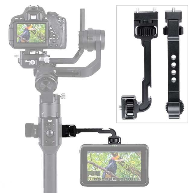 AgimbalGear DH11 All in 1 Dji Ronin S Extend Magic Arm for Monitor LED Video Light Gimbal Mount Adapter with Arri Cold Shoe