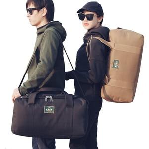 Image 5 - Bolsos de viaje de nailon para hombre y mujer, bolsas de viaje de gran capacidad, 2 tamaños, multifuncionales, para hombro