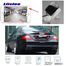 Liislee wifi wireless hd reverse camera For MB For Mercedes Benz CLS Class W219 CLS 300 CLS 350 rear view waterproof camera