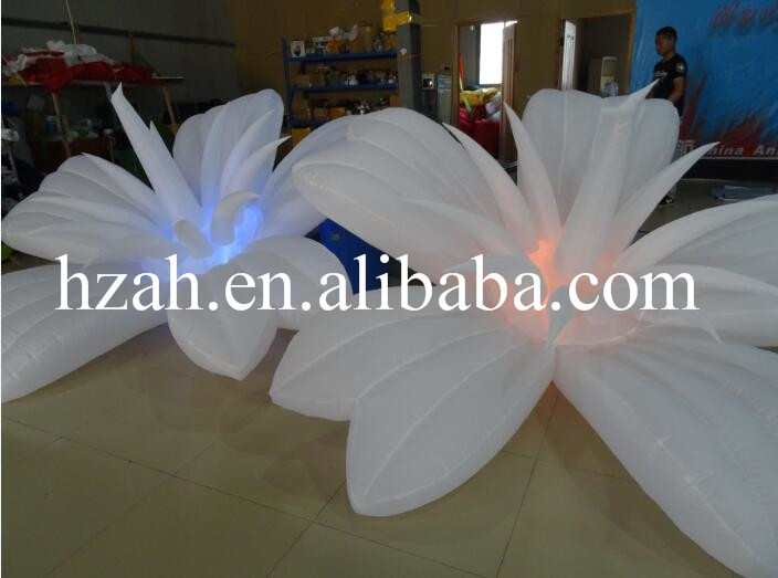 Small Inflatable Glowing Flower Wedding 2017 new inflatable flower long wedding decoration flower