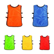 88ade2233805 Team Training Scrimmage Vests Soccer Basketball Pinnies Jerseys Adult  Football Training Grouping Expansion Sport Clothing(