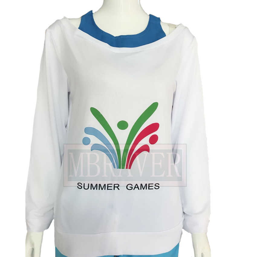 98a8441af3c2 ... OW Kawaii Mei Summer Games Sweater CG Rise and Shine Cosplay Pajamas  Meiling Zhou Costume Mei