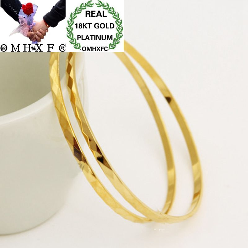 OMHXFC Wholesale European Fashion Woman Girl Party Wedding Gift  Slim Full Stars Geometric 18KT Gold Bangles Bracelets BE53OMHXFC Wholesale European Fashion Woman Girl Party Wedding Gift  Slim Full Stars Geometric 18KT Gold Bangles Bracelets BE53