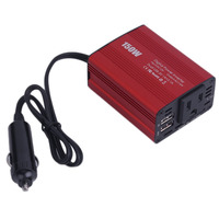 150W 4 8A Max DC 12V To AC 110V Car Inverter Car Adapter Dual USB Port