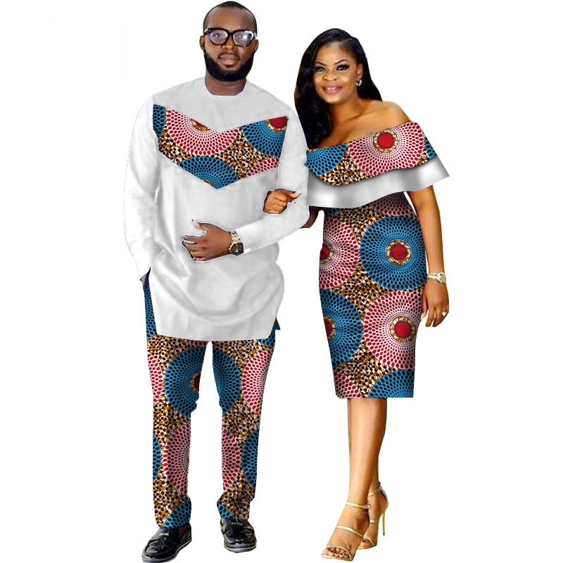 African-Dashiki-Print-Couple-Clothing-for-Lovers-Two-Piece-Set-Men-s-Suit-Plus-Women-s(6)