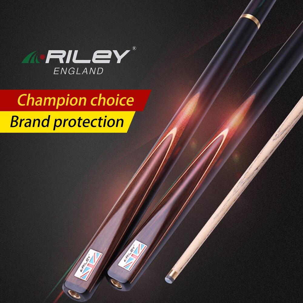 RILEY RWEST200 Kit de queue de billard queue de billard 9.5mm/9.8mm pointe professionnelle fait main une pièce billard billard