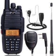 TYT TH UV8000D 10 واط قوية لاسلكي تخاطب عبر الفرقة مكرر المزدوج الفرقة VHF UHF 3600 مللي أمبير بطارية 10 كجم راديو محمول جهاز الإرسال والاستقبال