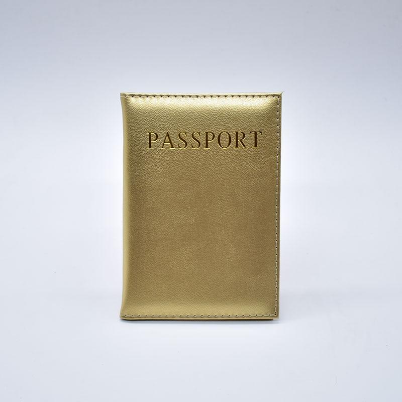 Hot Sale Fashion Läder Pass Cover Kvinnor Resa Biljett Pass Case - Plånböcker - Foto 6