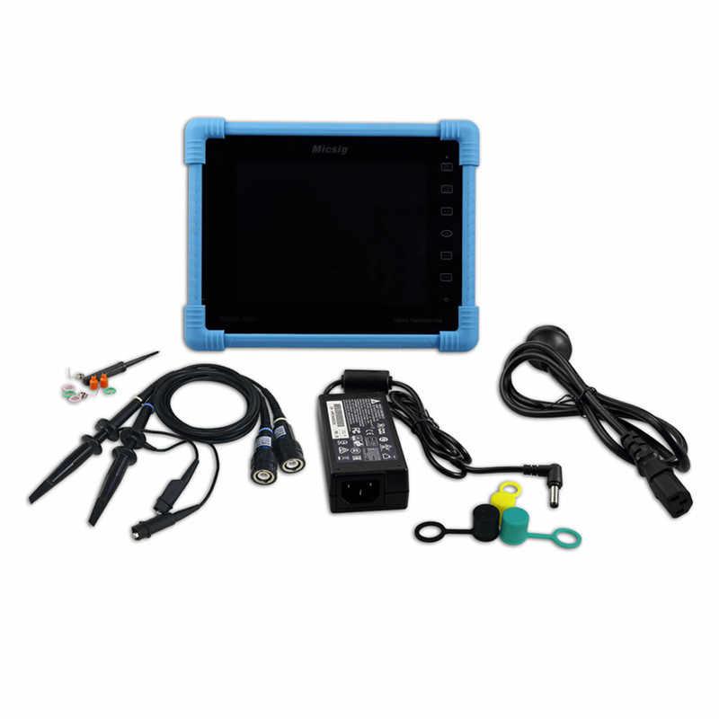 デジタルタブレットオシロスコープ 100MHz 2CH 1 1g の Sa/S のリアルタイム · サンプリングレート Protable オシロスコープ自動車オシロスコープキット TO1102