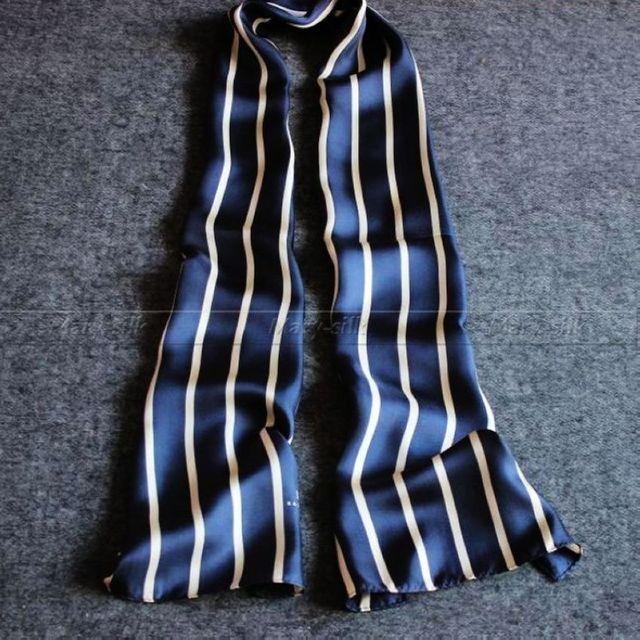 Grande Presente _ _ Fashion Mens 100% Silk Scarf Longo/Gravata Scarives Marca Double Layer _ _ Para A Primavera outono Inverno