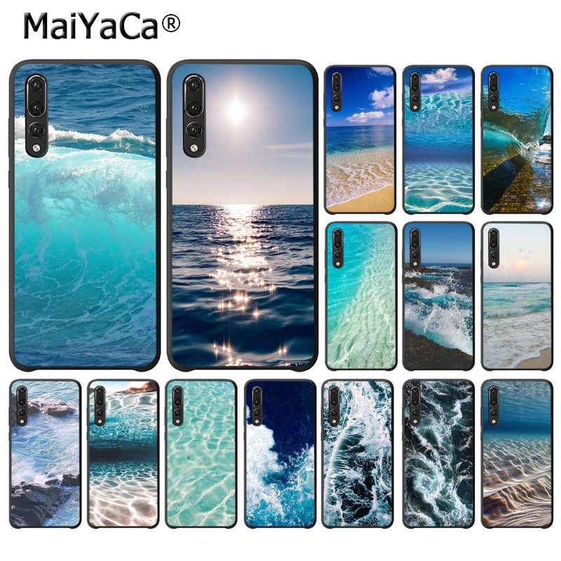 MaiYaCa waves ocean water light refractions Unique Phone Cover for Huawei P10 plus 20 pro P20 lite mate9 10 lite honor 10 view10