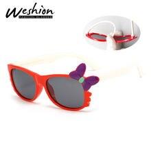Meninas Borboleta Óculos De Sol Polarizados Crianças Crianças Bebê Quadrado  Retro Óculos Oculos UV400 Alta Qualidade Com Caso d9abf4f3ab