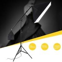 2m Photo Tent Combination Kit Light Box Lamp Stand Photography Soft Box Lighting Kit Tripod Shooting Studio Accessories