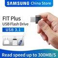 SAMSUNG USB флеш-накопитель, 32 ГБ, 64 ГБ, 128 ГБ, 256 ГБ, USB 3,1