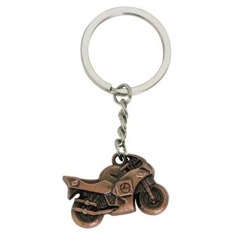 3D w stylu Vintage Metal motocykl brelok motocykl brelok do kluczy brelok do kluczy brelok do kluczy pierścień uchwyt pilota tanie i dobre opinie BLINGIRD