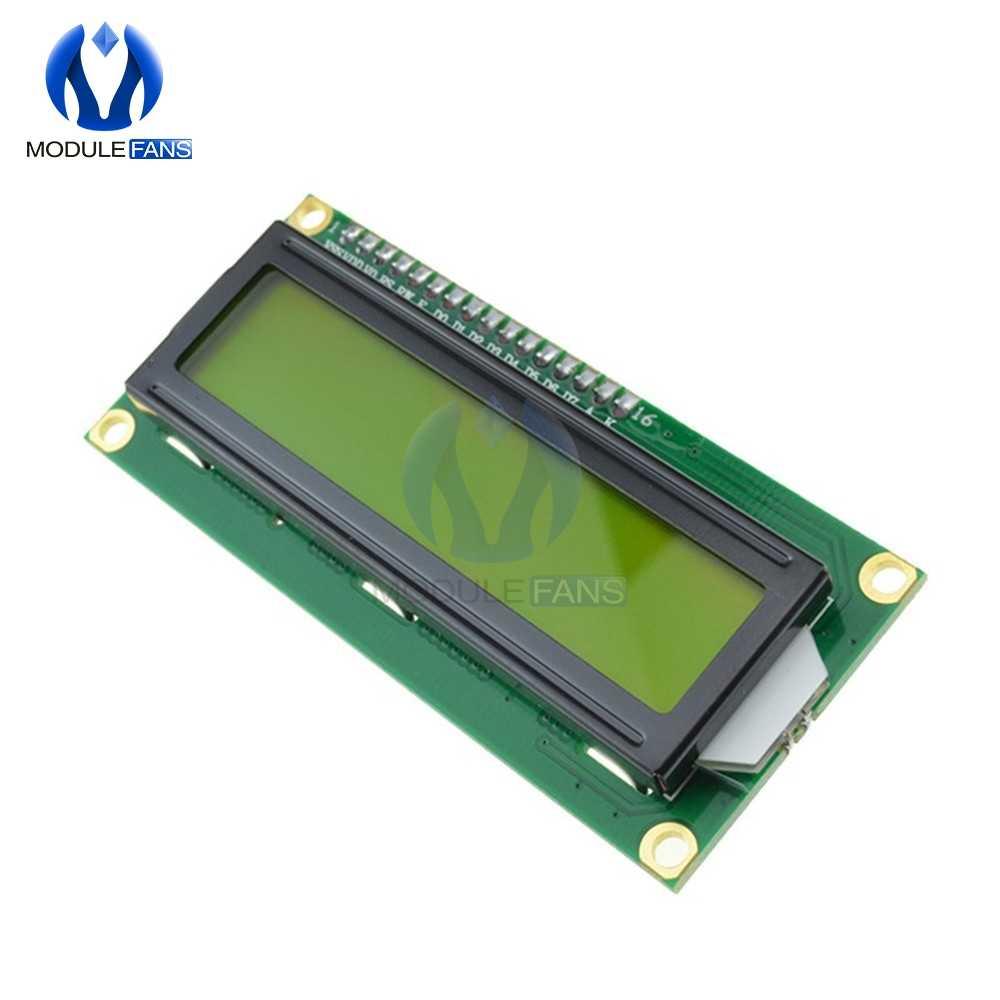 1602 16x2 16x2 HD44780 Karakter Dijital lcd ekran Modülü Denetleyici Kurulu Sarı Aydınlatmalı Geniş Görüş Açısı Yüksek kontrast