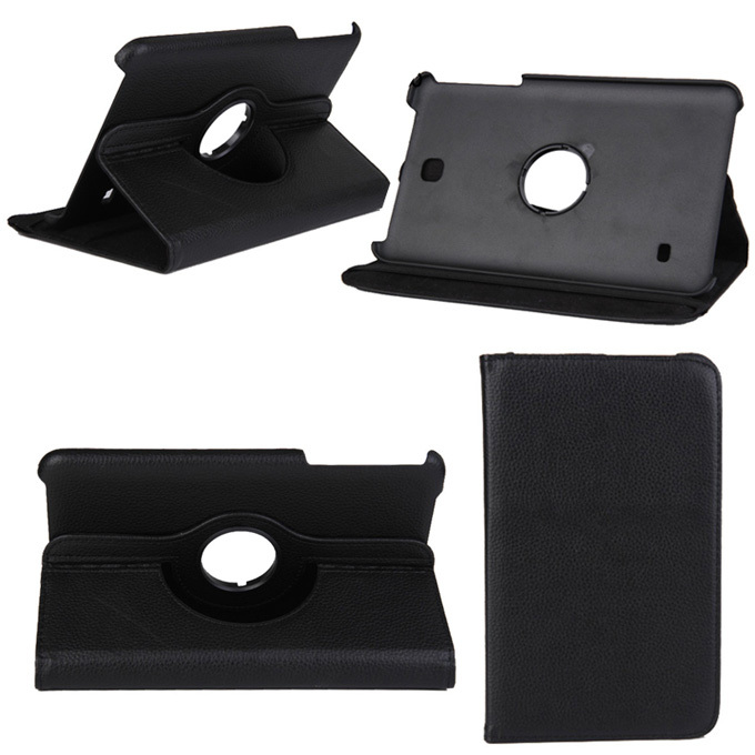 Top quality 360 Rotating PU Leather Case Cover For Samsung Galaxy Tab 3 8.0 T310 T311 T315 8 inch Tablet Accessories KF363D