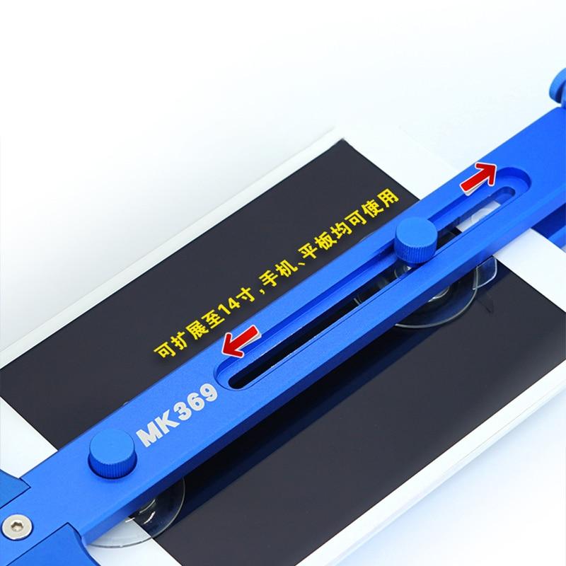 Ferramentas de abertura de desmontagem de tela lcd sem calor do telefone móvel para o iphone ipad samsung kit de ferramentas de reparo de separador de tela do telefone - 3