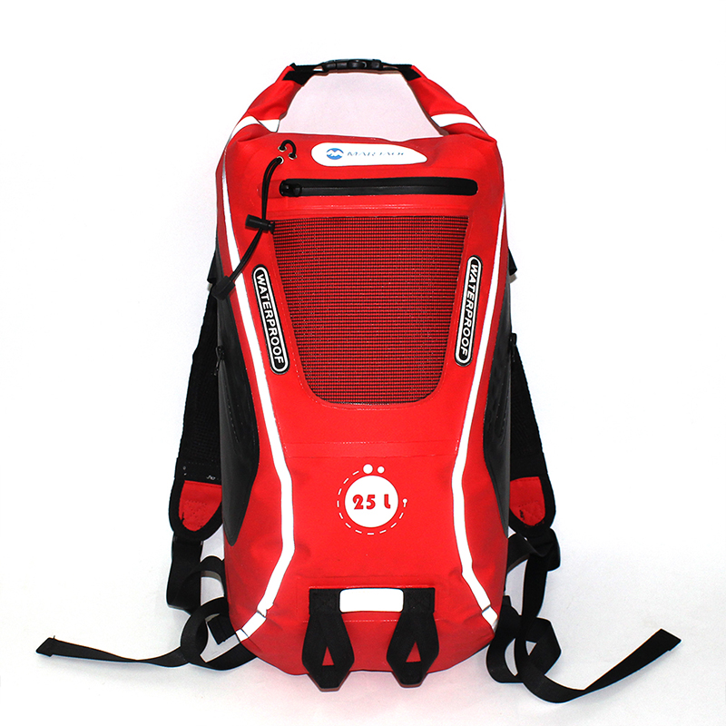 25L Outdoor Waterproof Bag Dry Bag Waterproof Backpack Climbing Man Rafting Kayaking River Trekking Bag Women