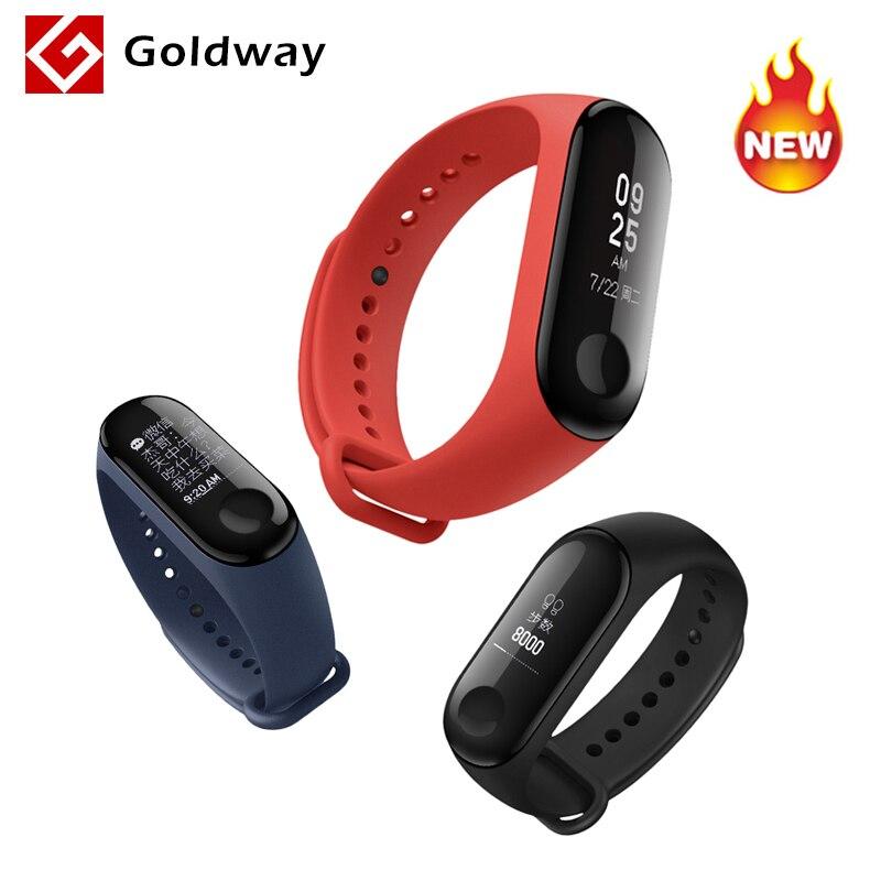 "Original Xiaomi Mi Band 3 Fitness Tracker Smart Bracelet 0.78"" Oled Touch Screen 50m Waterproof Miband 3 Smart Wristband"