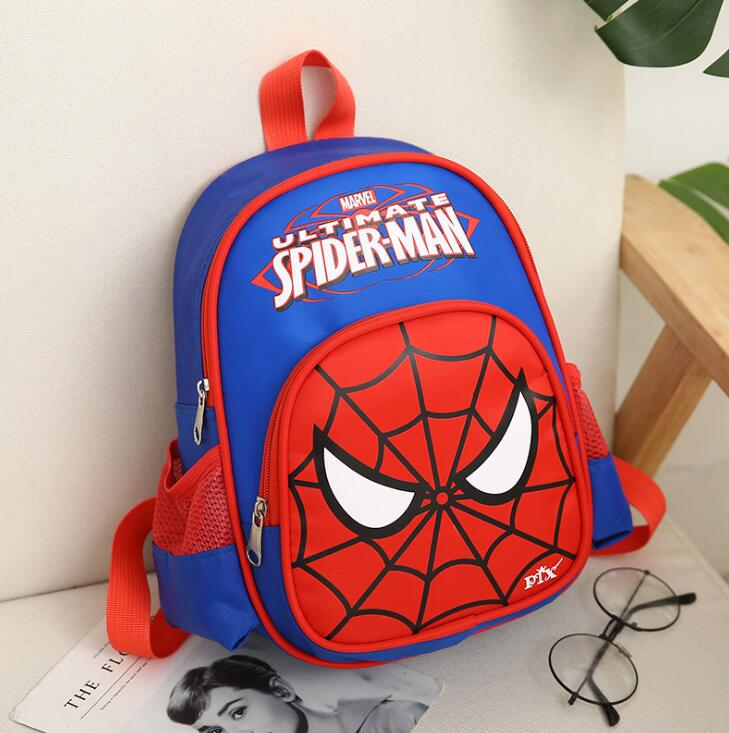New Spider Man Spiderman School Bags For Boys Children Primary School Elementary Schoolbag Kids Backpack Bag