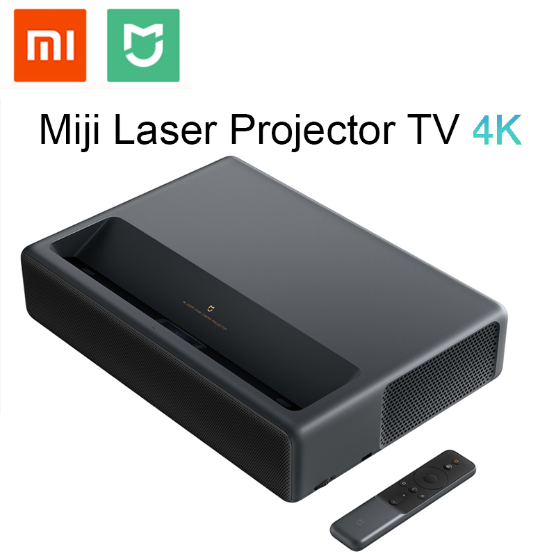 Xiaomi Mijia MJJGTYDS01FM 2 GB 16 GB MIUI TV Laser HDR TV 4 K Bluetooth Wi-fi 3D Sistema de Home Theatre versão chinesa