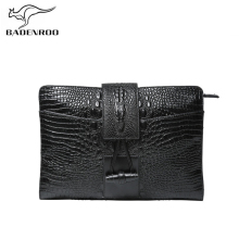 Badenroo Alligator Crocodile Leather Men Bag Clutch Business