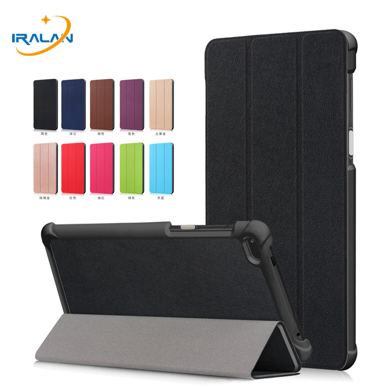 PU Leather Stand magnetic <font><b>Case</b></font> <font><b>For</b></font> <font><b>Lenovo</b></font> Tab4 <font><b>7</b></font> TB-7504F TB-7504N TB-<font><b>7504X</b></font> <font><b>Tablet</b></font> Cover <font><b>for</b></font> <font><b>Lenovo</b></font> <font><b>Tab</b></font> <font><b>7</b></font> 7504 <font><b>7</b></font>.0 inch+Film+Pen image