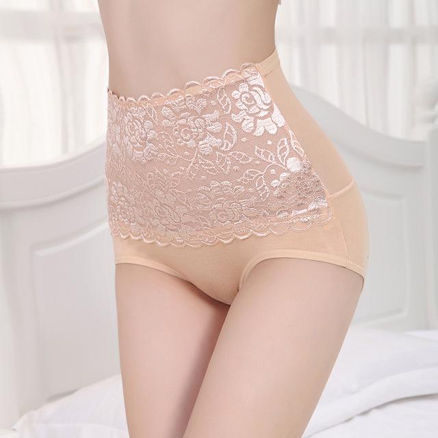 Ultra-Thin Transparent Modal Seamless High Waist Briefs Underwear Fashion Women Lady Underpants Sexy Lace Shaper Butt Buttock