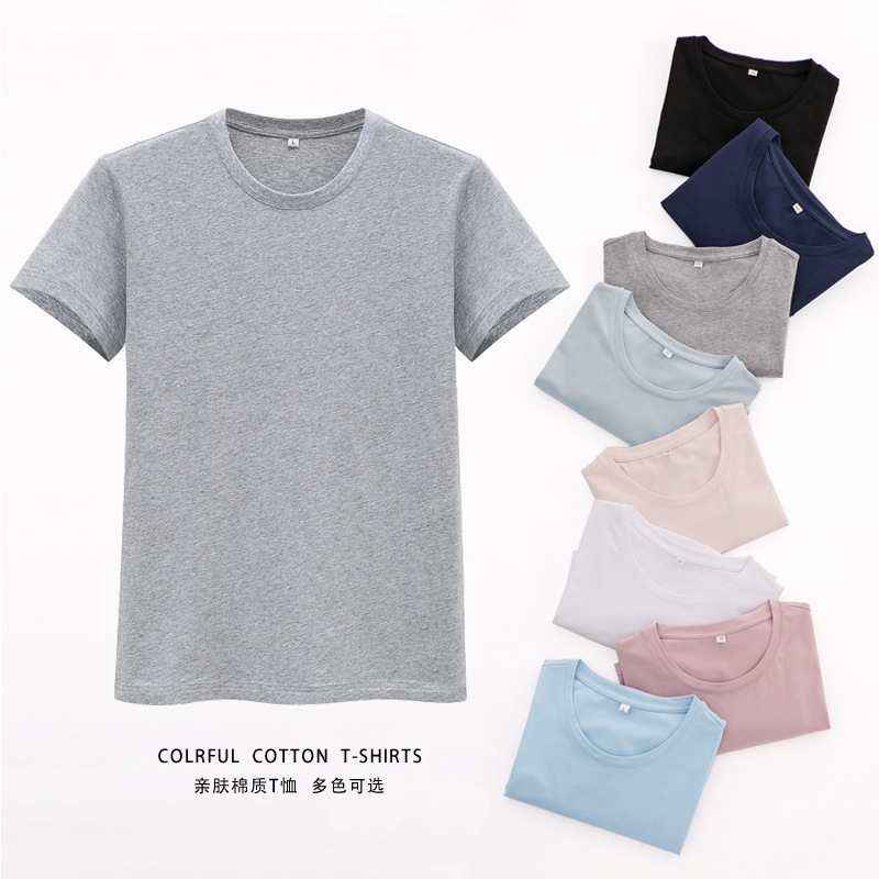 Summer T-Shirt Men short sleeve Round collar Men Fashion tshirts men's tee tshirt homme Shirts Casual brand mens Clothing Cotton