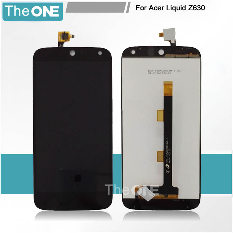 For Acer Liquid Z630S Z630 Touch Screen Digitizer With LCD Display Assembly 100% Tested Free Shipping With Tracking Number